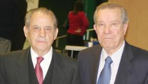 José León Robles y Ramón Iriarte.