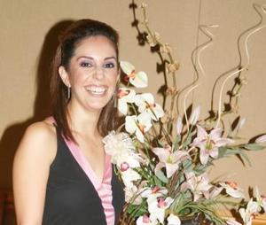 Ana Sofía Urquizo Leal en su primera despedida de soltera.