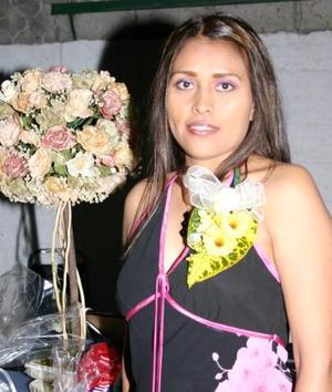 Magda Ríos Rodríguez, captada en su despedida