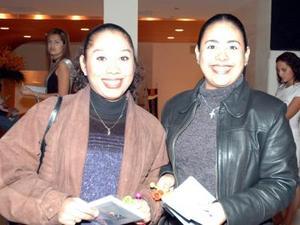 Claudia Martínez y Brenda Salas.