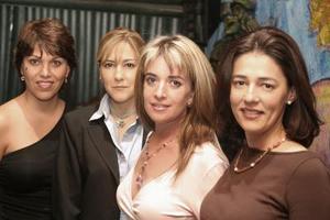 Malula Salazr, Perla Enriquez, Ale Fernandez y Gaby Belmont