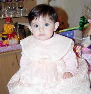 La pequeña Lizama Dahema Artea Llanas, captada el día de su cumpleaños