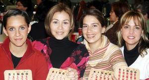 Bety Nieto, Mónica Aguilera, Mayra Corral y Liz Ohoa