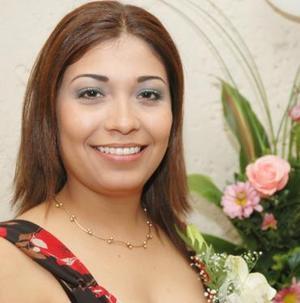 Daisy Aguilar Carrasco, captada en su despedida de soltera