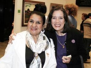 Paulina y Martita Tello.
