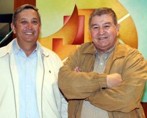 Mario Valdez y José Armando García Triana