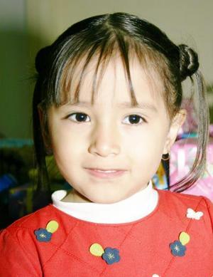 Dayel Mier Meléndez cumplió cuatro años de edad por lo que fue festejada por sus padres los señores Dagoberto Mier y Claudia Meléndez.