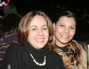 Paty de Lindan y Diana de González
