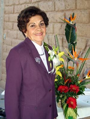 Sra. Guadalupe Nájera Mier captada recientemente