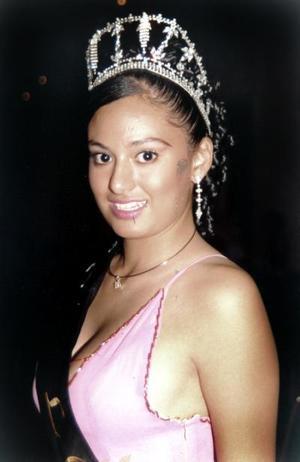 Fabiola Josefina Nuñez Mena, señorita Turismo Lerdo 2004.