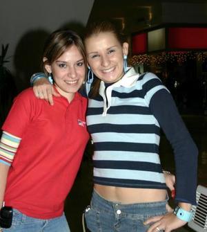 Ileana Delgado y Gaby Martínez