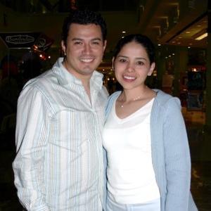 Claudia Bollain y Carlos Caballero.
