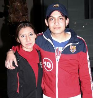 Dulce Martínez y óscar Martínez
