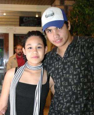 Kako Garza y Dora Calderón.