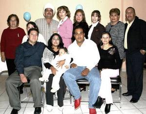 Daniel Octavio cumplió un año de vida, motivo por el cual sus papás y familiares le organizaron una fiesta de cumpleaños.