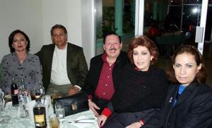 Norma de Ávalos, Juan Ávalos, Julián Goray, Rosario dwe Goray y Patricia de Rojas.
