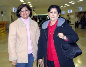 Rita Rodríguez y Silvia Elizondo viajaron a Fresno California.