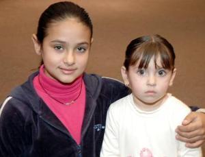 Renata Martínez y Regina González.