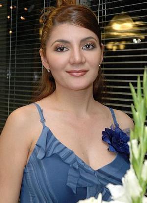 Aída Dabdoub Rosales contraerá matrimonio el próximo 18 de diciembre .