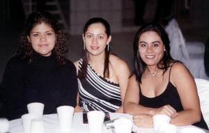Edith Luna, Lulú Juárez y Paloma Zavala.