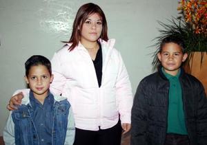 Daniel Tatay, Yarely del Rocío y Antonio Tatay