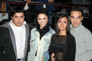 Aldo Andrade, Daniella López, Mónica Ibarra y Jorge Cavanzón