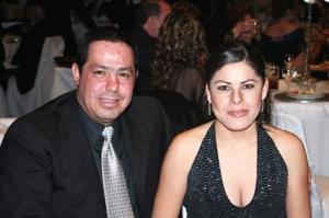 Alejandra López y Enrique Fernández