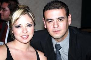 Claudia Gamón y Daniel Saldaña.