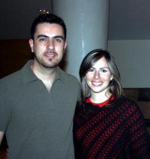 <b>08 de diciembre de 2004</b><p> Raúl Slim y Marisa Gilio Slim.