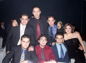 <b>09 de diciembre de 2004</b> <p> Raúl Ramírez, Carlos Lara, Diego Cabello, Manuel Serna, Antonio Rodriguez y Selene Orozco .