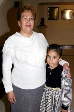 Irene Torres y Nancy Campa