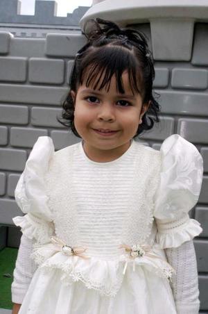 Norma Alicia Vázquez González, captada en su fiesta de cumpleaños.