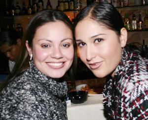 Inés Ávila y Gaby Alanís.