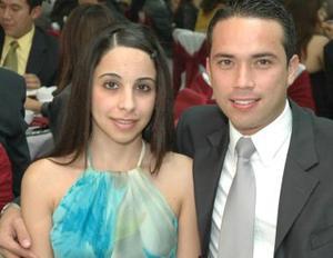 Georgina Cassani y Ricardo Castañeda.