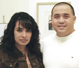 Irma Martínez y Sergio Valdez.