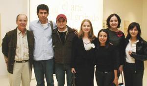 Alonso de Alba, José Alfredo Jiménez, Román Eguía, Cristina Treviño, Tere Hernández, Patricia Hernández y Ana Villar.
