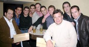 Manolo González Salinas, Jorge Fahur, Carlos Yacamán, Jaime Russek, Nesim Issa, Mike Cepeda, Arturio Gilio, Carlos Delgado, Andrés Arriaga y Toño Ortiz.