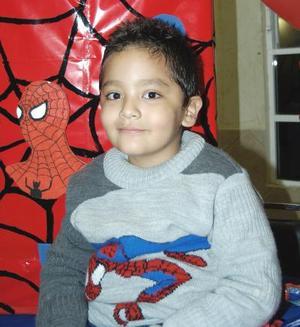 Paquito González Rosales disfrutó de una merienda, con motivo de sus seis años