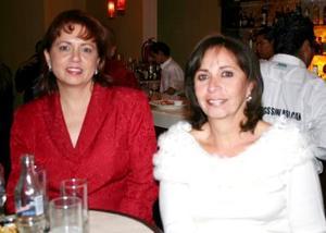 Gloria Abusaid y Gloria López Negrete.