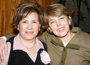 Graciela de Alba y Silvia de Parra.