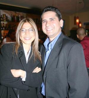 Ilse Aguilera y Manuel Medina.