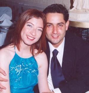 <b>11 de diciembre de 2004</b><p>   Ramón Gerardo Máynez  Castro y Lidia Cervantes Peña.