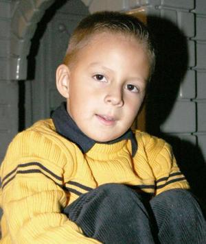 Andrés Alonso Ochoa Rendón cumplió siete años de vida.