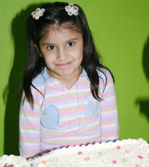 Karla Rosales Castañeda el dia de su cumpleaños.