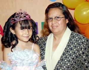 Ruth Karime Agüero Hernández celebró su sexto cumpleaños.