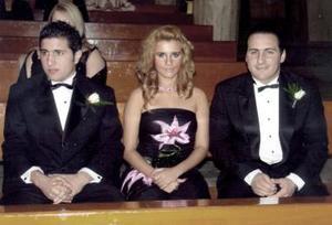Pablo Garza del Valle, Zayra Ortíz Rosas y Raul Garza del Valle.