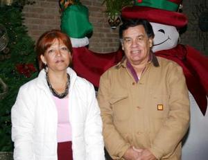 Gabriela Juárez y Evaristo Rentería.
