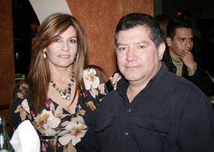 Adriana y Sergio Pinto.