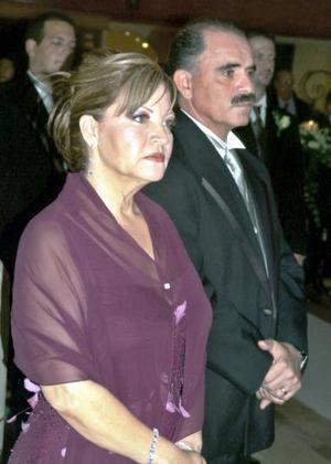 Carlos Fahur Amador y Rosa María Cervantes.