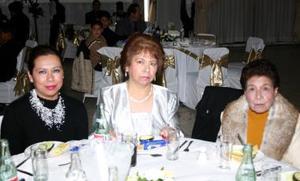 Ana Maria Salazar, Diana Espinoza y Rocío Martínez